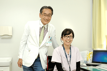 林 朋子医師(右)所 和彦医師(左)